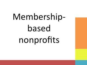 membership based